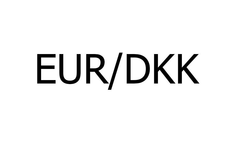 نماد جفت ارز EUR/DKK