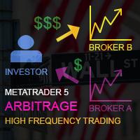 اکسپرت و ربات معامله گر LAtency arbitrage MT5