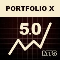 اکسپرت و ربات معامله گر Portfolio X 10 eurusd